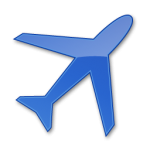 المطار الأزرق 2 أيقونة