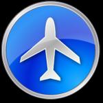المطار الأزرق أيقونة