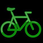 دراجة الأخضر 2 أيقونة