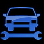 تصليح السيارات الأزرق 2 أيقونة