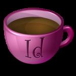 القهوة يقوم InDesign أيقونة