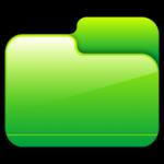 مجلد مقفلة الخضراء أيقونة