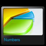 الأرقام أيقونة