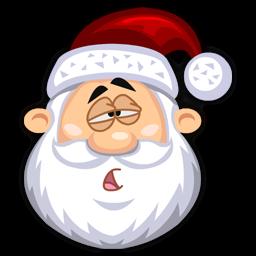 Tired SantaClaus icon