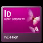 أيقونة في InDesign